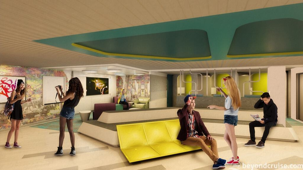 Celebrity EDGE - The Basement preview