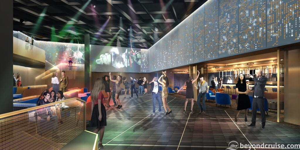 Celebrity EDGE - The Club preview