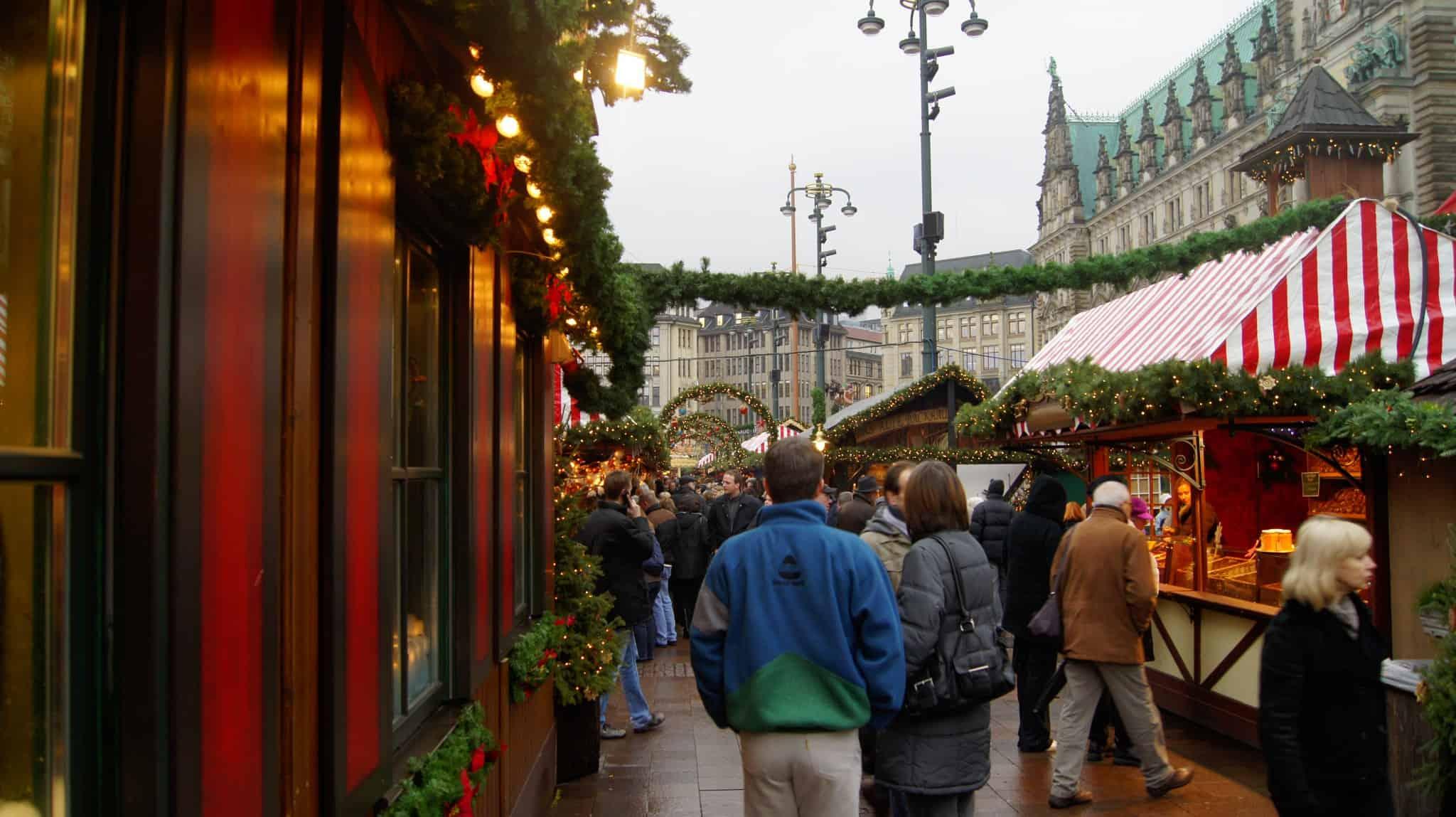 Hamburg's biggest Christmas market