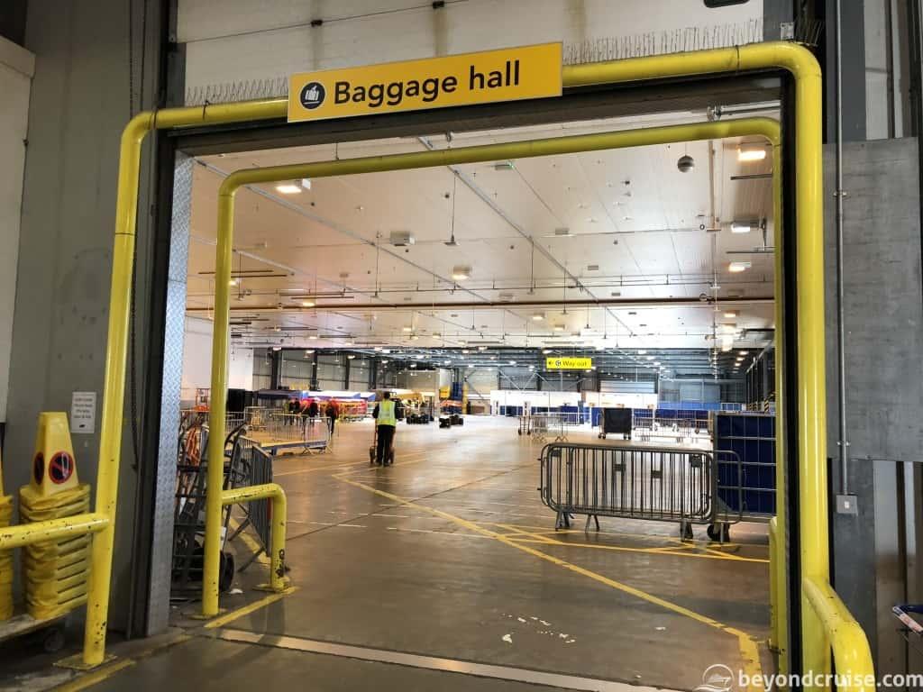 Southampton City Terminal Baggage hall