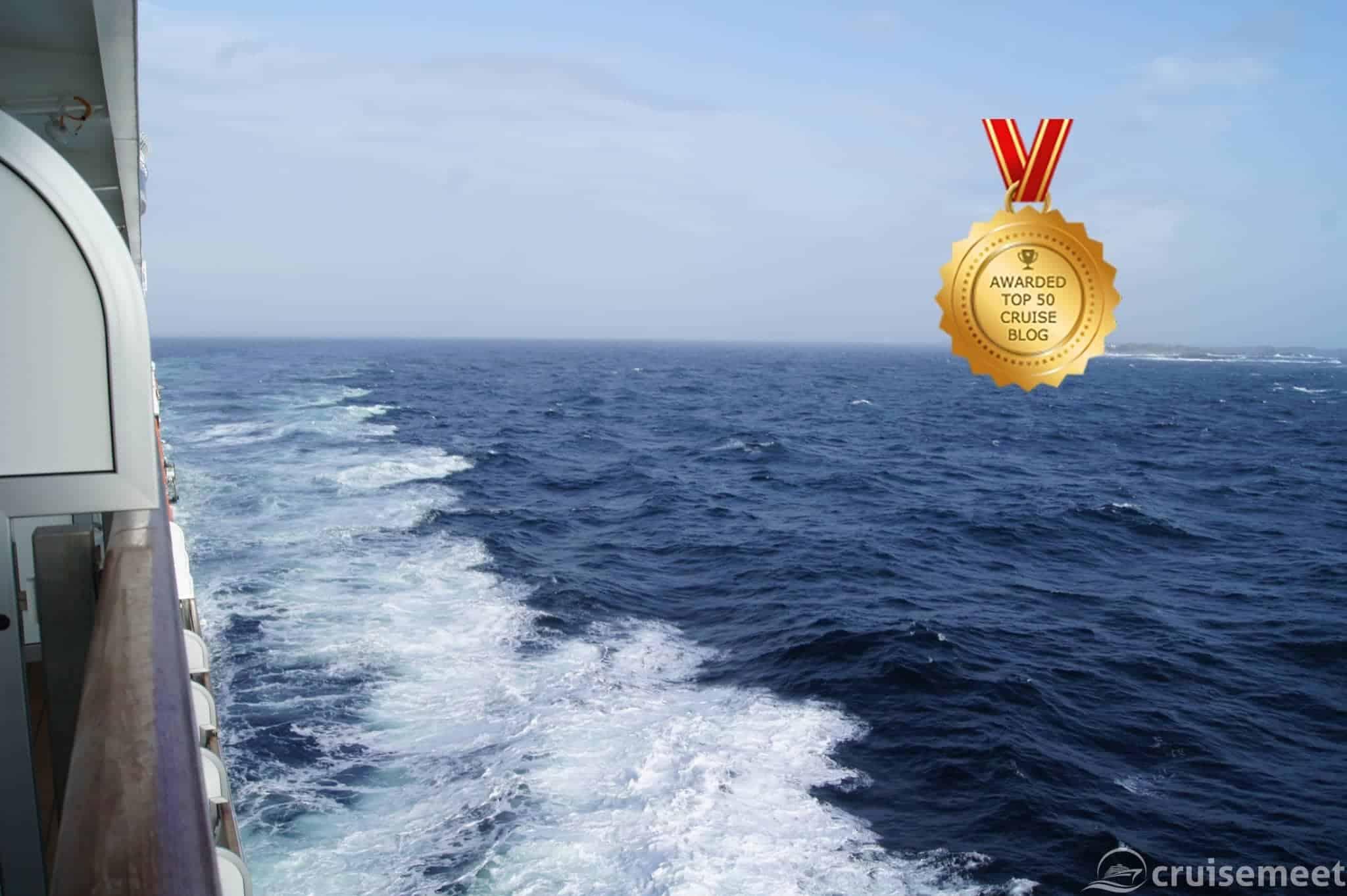 Queen Elizabeth in the Norwegian Sea