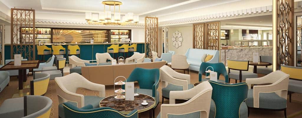 Queen Mary 2 - Remastered - Carinthia Lounge