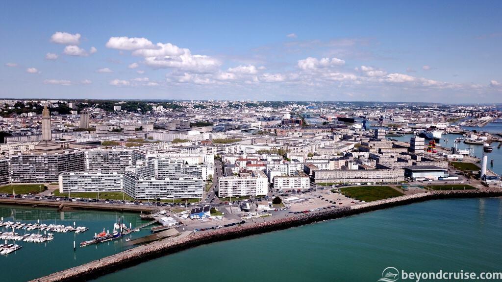 Le Havre city marina