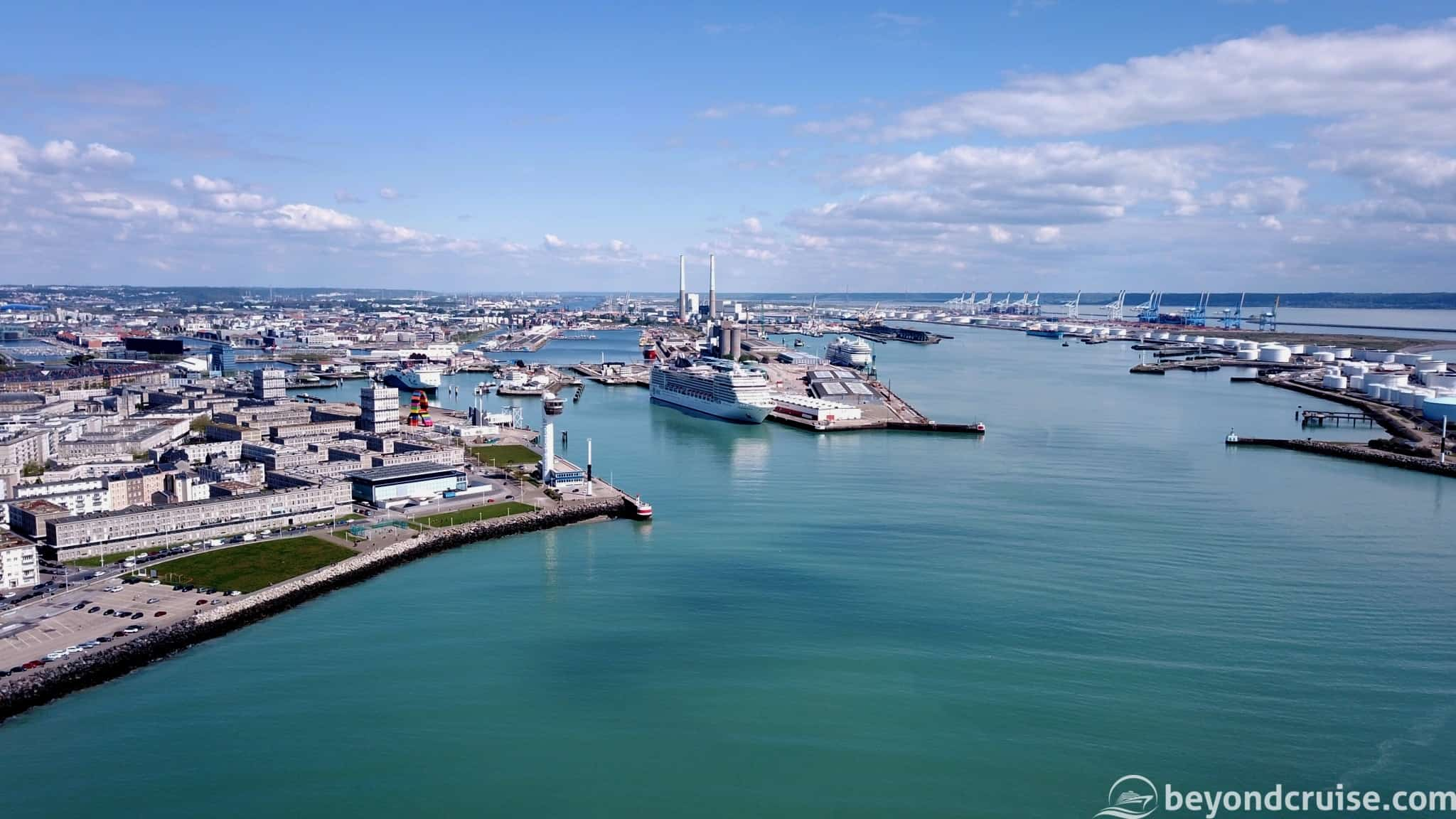 MSC Magnifica in Le Havre
