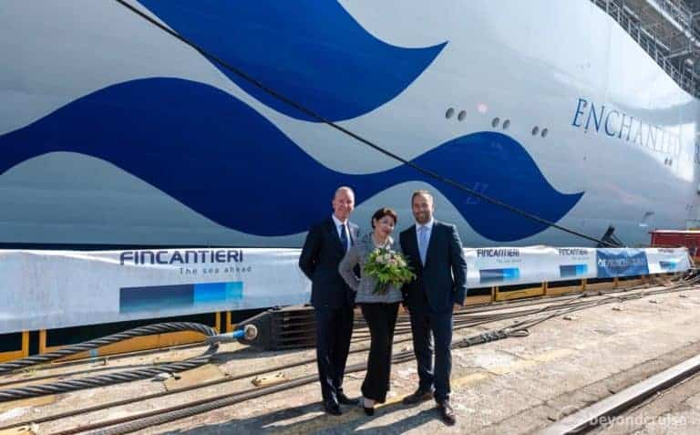Enchanted Princess Completes Float Out