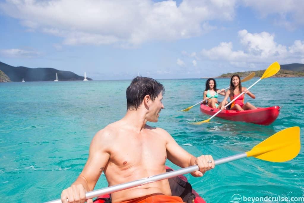 Kayaking Excursion with Norwegian Cruise Line