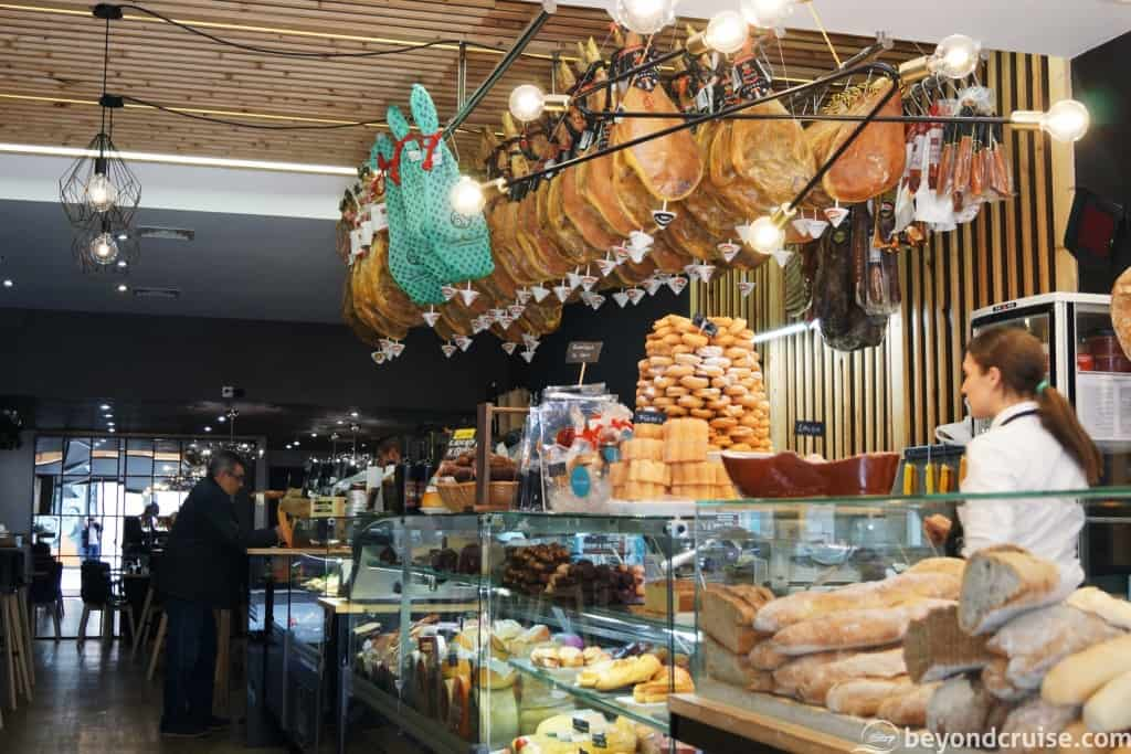 La Coruna ham shop and bakery