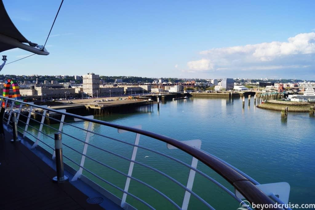 Le Havre sailaway