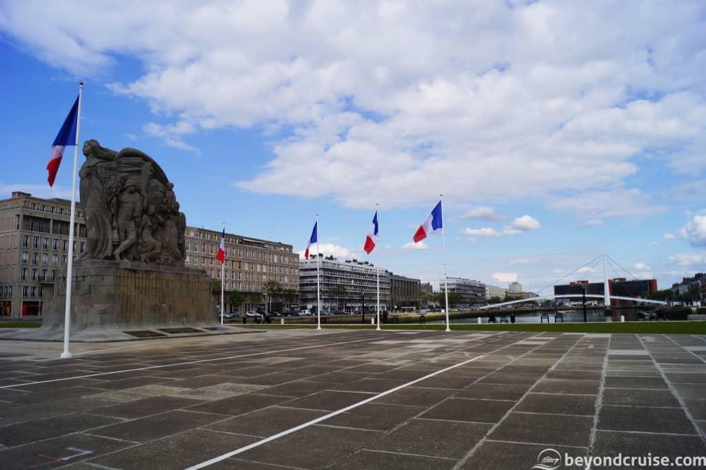 Le Havre Second World War memorial