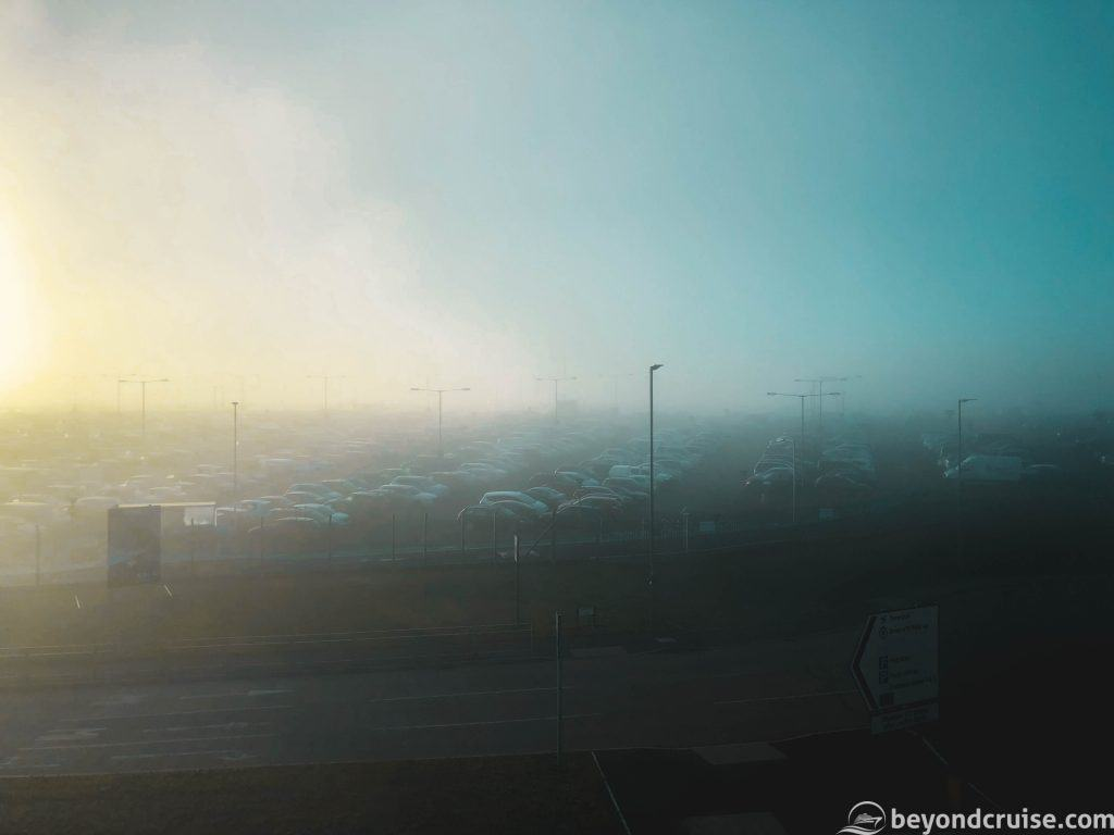 Luton Airport - Foggy!