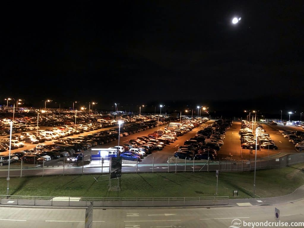 Luton Airport Holiday Inn Express view