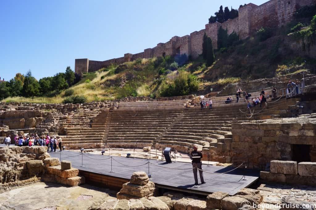 Malaga City Roman Theatre
