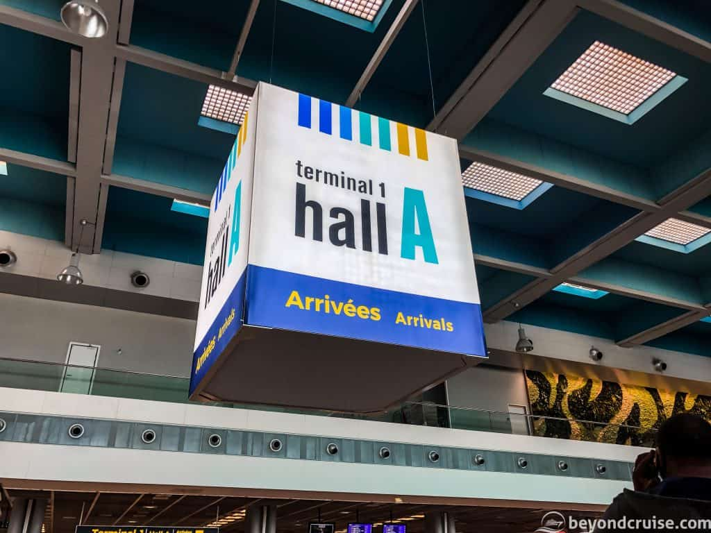 Marseille Airport - Hall 1 Arrivals