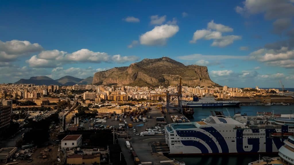 Palermo from the air