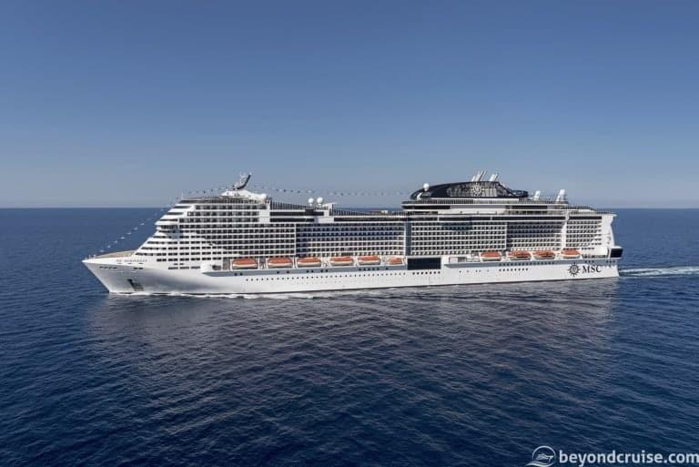 MSC Meraviglia Live Voyage Introduction