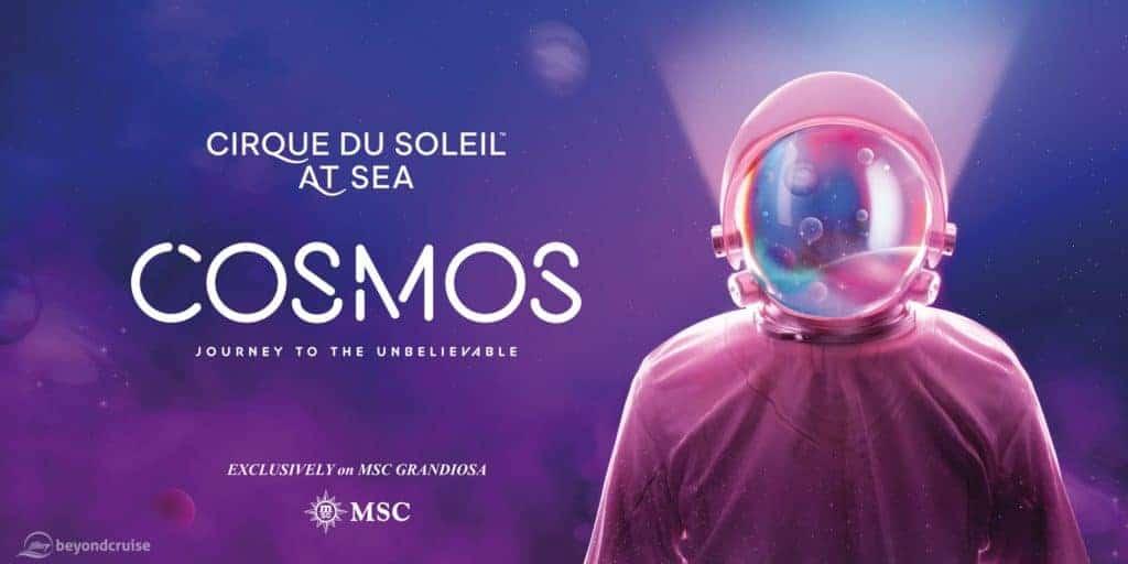 """MSC Grandiosa - Cirque du Soleil @ Sea """"Cosmos"""""""