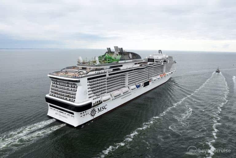 MSC Grandiosa completes sea trials