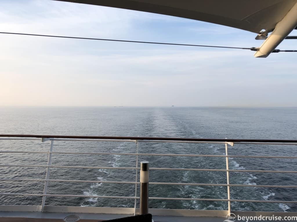 MSC Magnifica English Channel with AIDAperla following