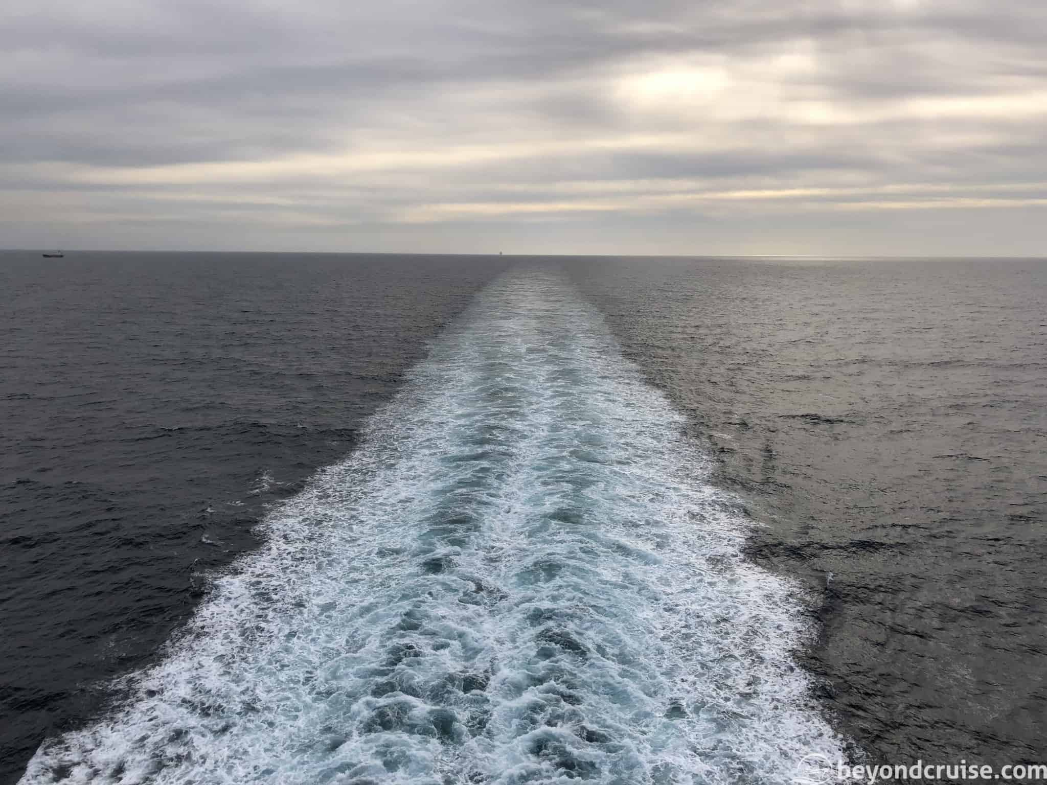 MSC Magnifica aft view sea day 10