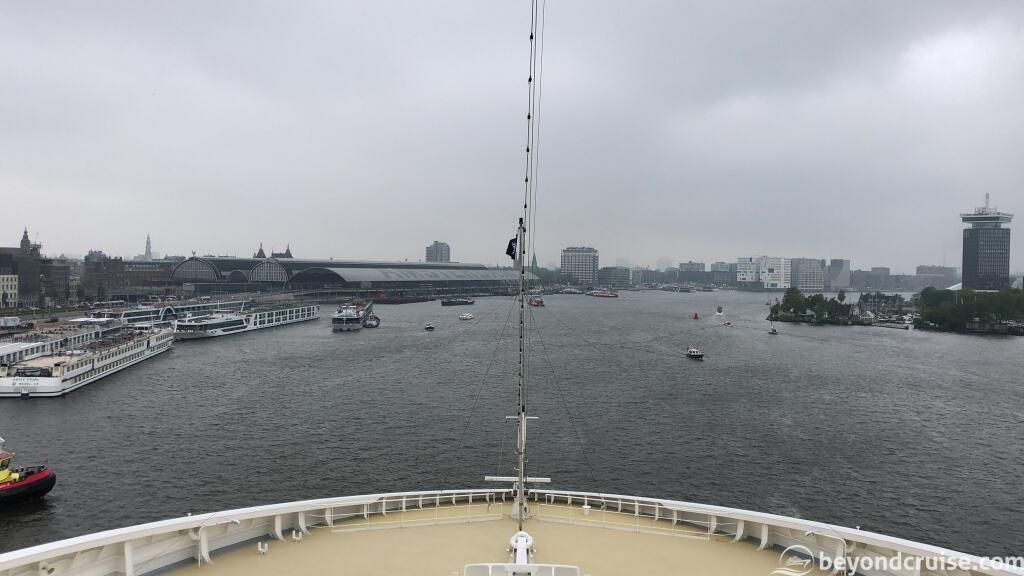 MSC Magnifica in Amsterdam