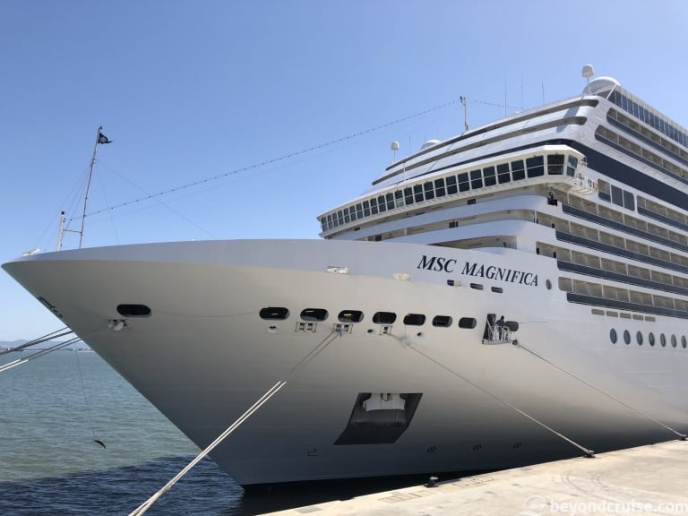 MSC Magnifica to undergo refit and offer UK sailings
