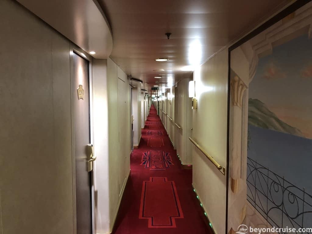 MSC Magnifica long corridors