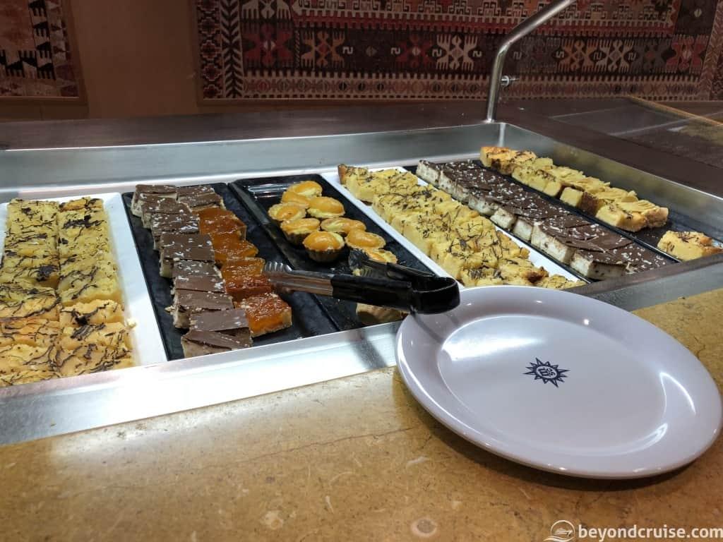 MSC Magnifica dessert selection
