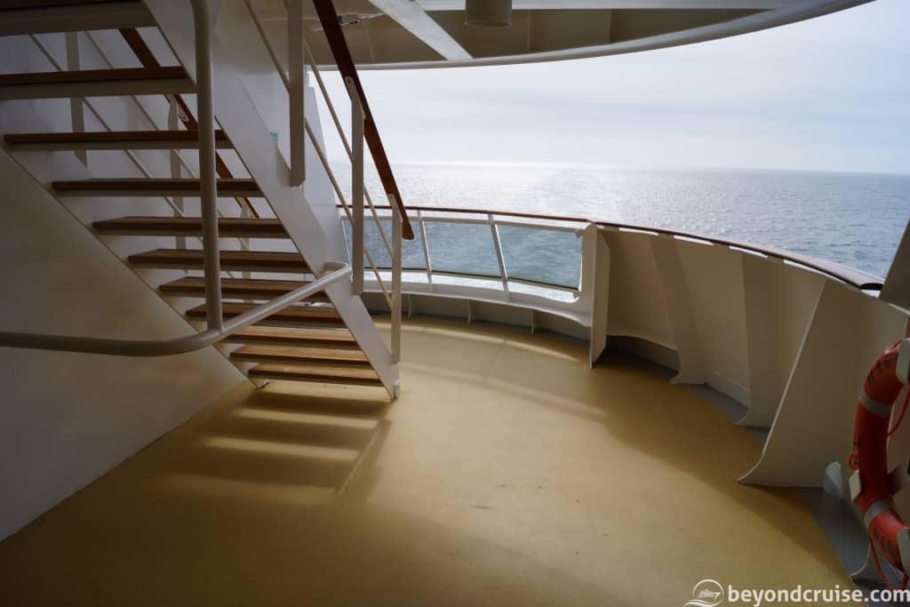MSC Magnifica hidden area Deck 11 right