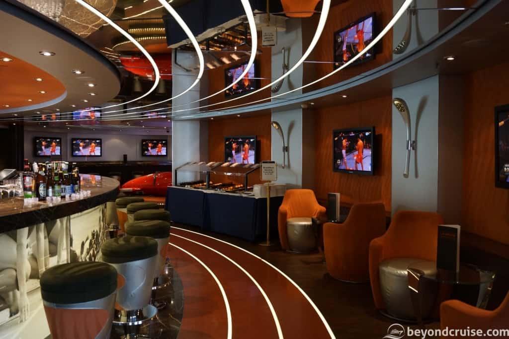 MSC Magnifica L'Olimpiade Sports Bar