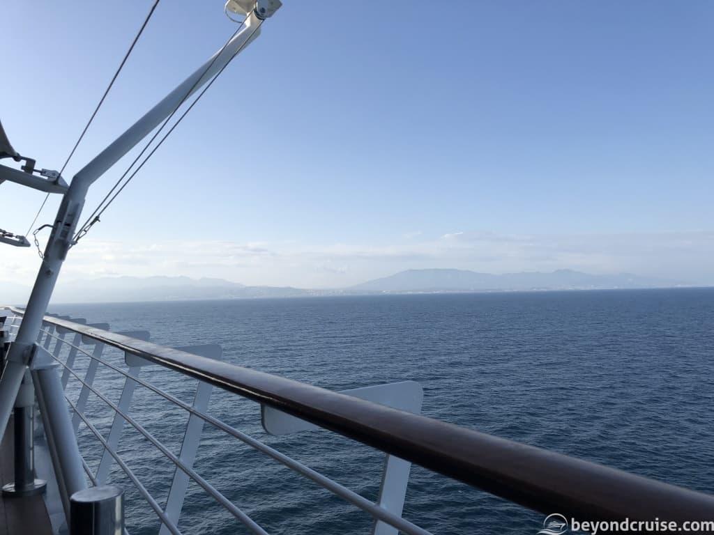 MSC Magnifica Malaga sailaway