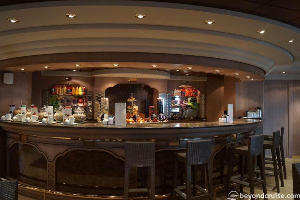 MSC Magnifica Aurea Spa Bar