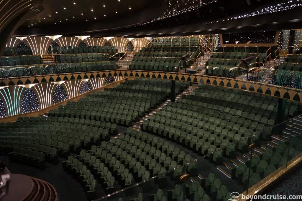 MSC Magnifica Royal Theatre upper tier
