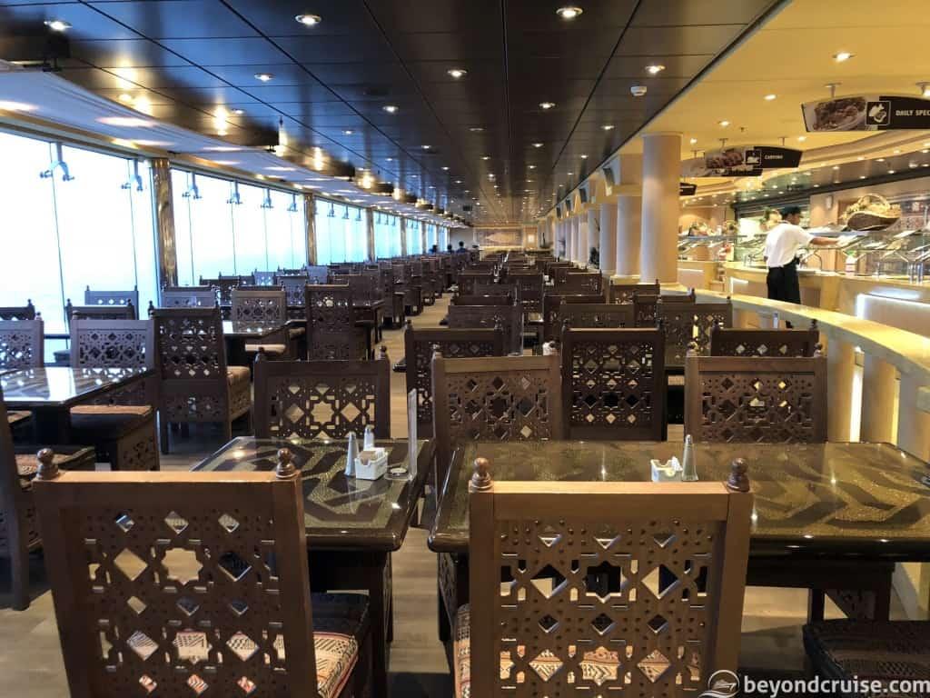 MSC Magnifica Sahara buffet