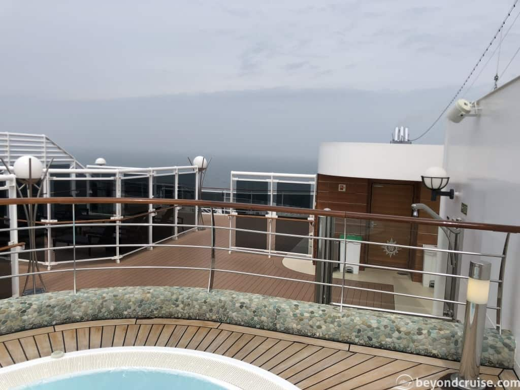 MSC Magnifica view from Top16