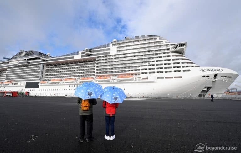 MSC Meraviglia Breaks Records as Largest Ever Cruise Ship to Visit Belfast
