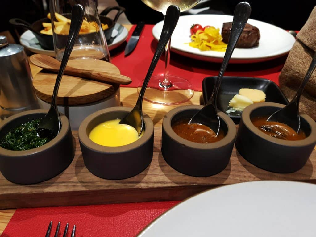 Butcher's Cut - Assorted sauces