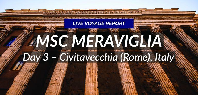 Day 3 – Civitavecchia (Rome), Italy