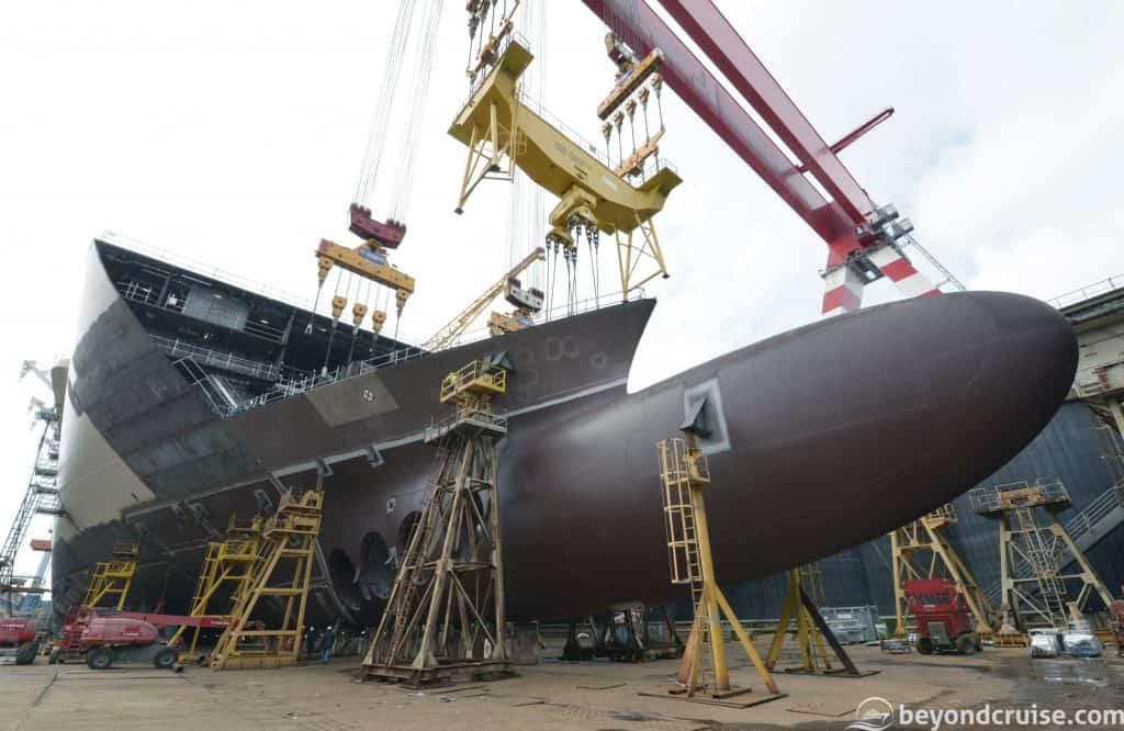 MSC Meraviglia under construction