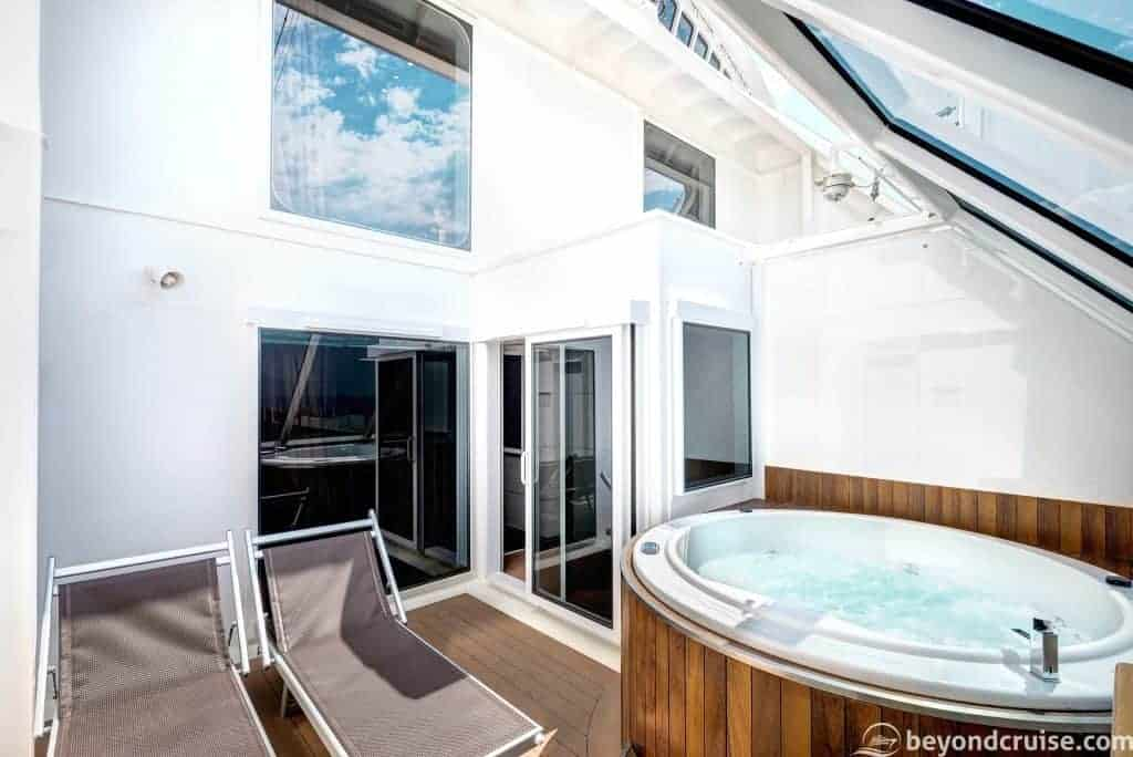 MSC Meraviglia - Duplex Suite balcony