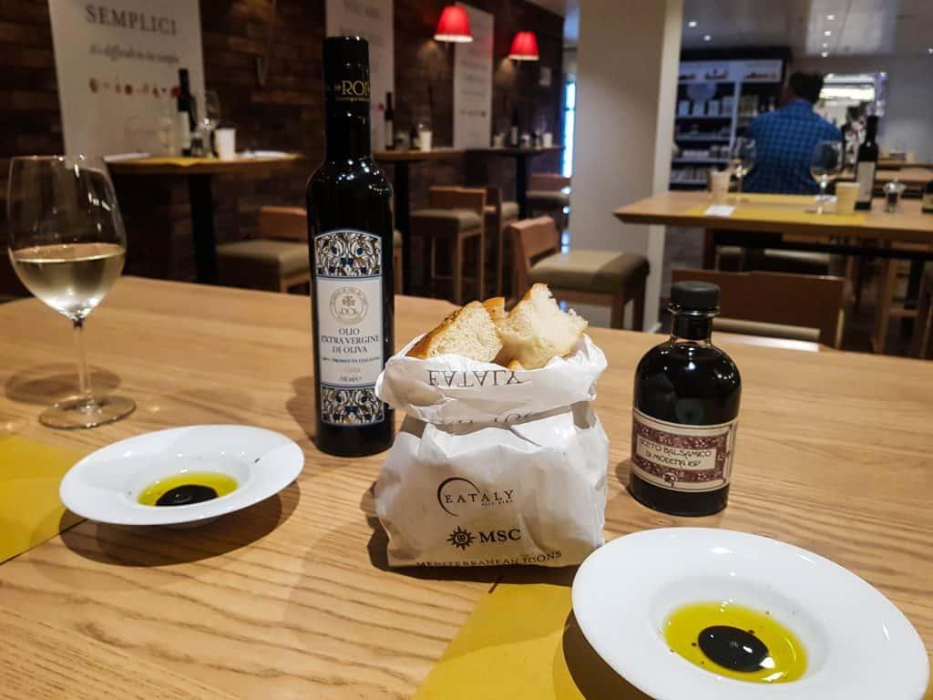 MSC Meraviglia, Eataly Food Market – Bread