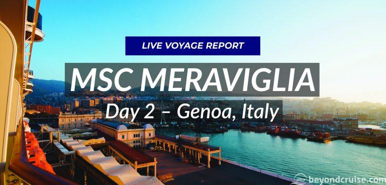 Day 2 – Genoa, Italy