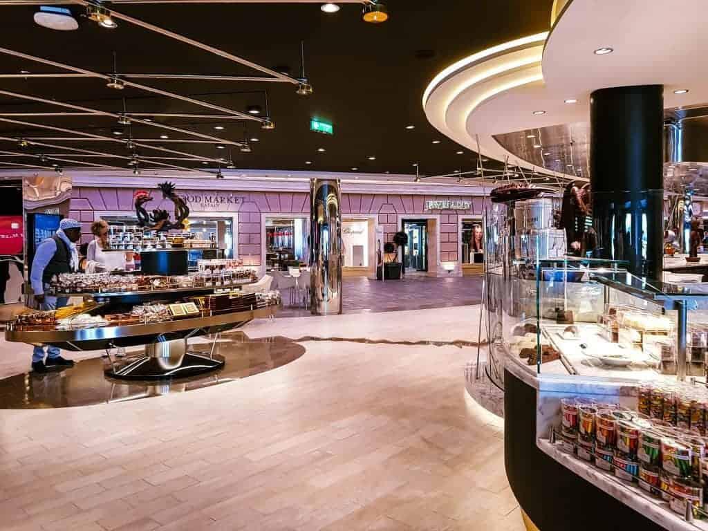 MSC Meraviglia Jean Philippe Chocolate and Cafe