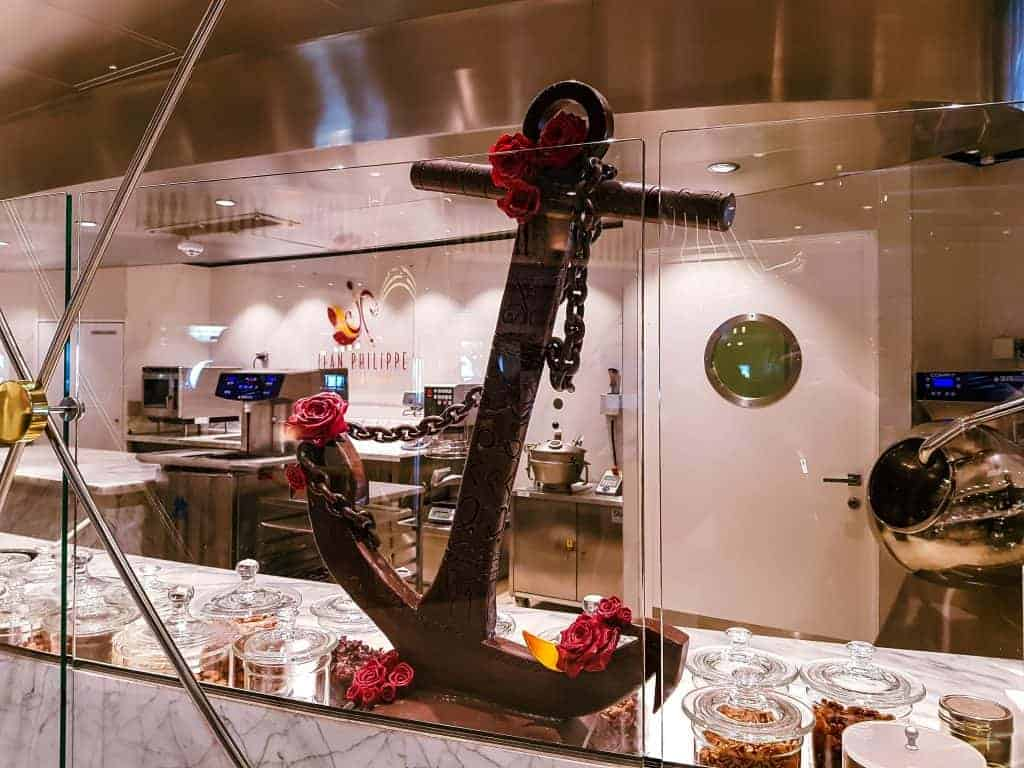 MSC Meraviglia Jean Philippe Chocolate Anchor