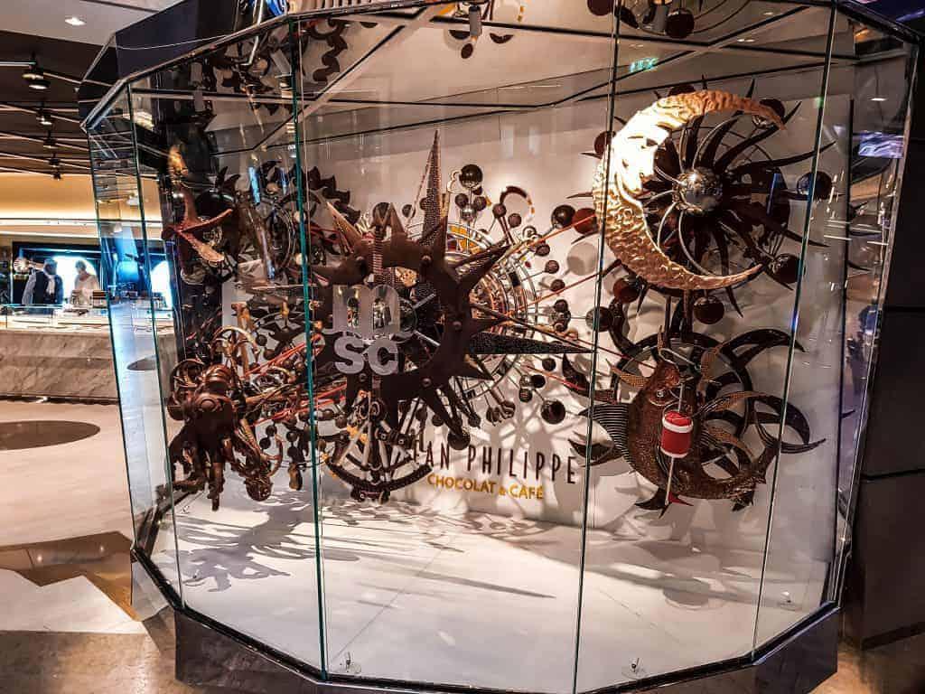 MSC Meraviglia Jean Philippe Chocolate and Cafe Display