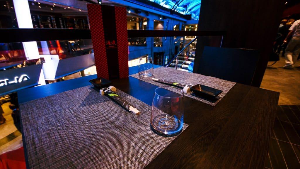 MSC Meraviglia - Kaito Sushi Bar promenade