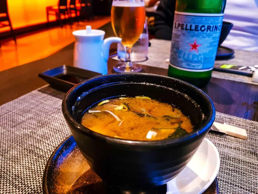 MSC Meraviglia - Kaito Sushi - Miso Soup