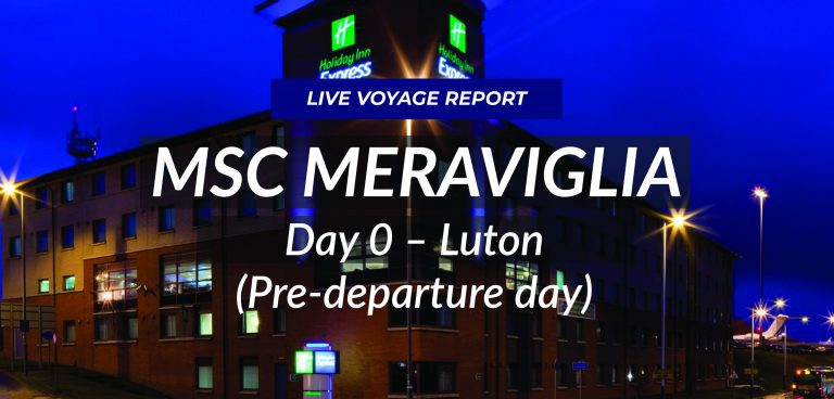Day 0 – Pre-departure Day