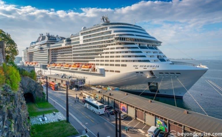 MSC Meraviglia makes Maiden Call in Oslo