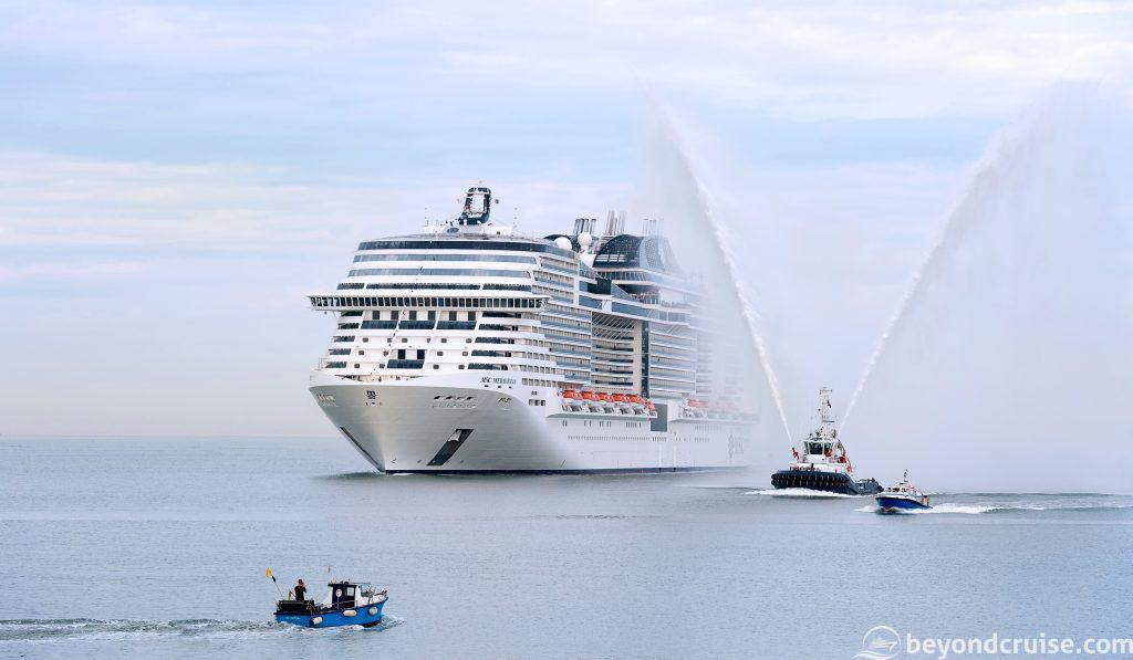 MSC Meraviglia Maiden Voyage