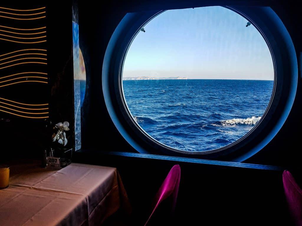 MSC Meraviglia, Waves Main Dining Room, View